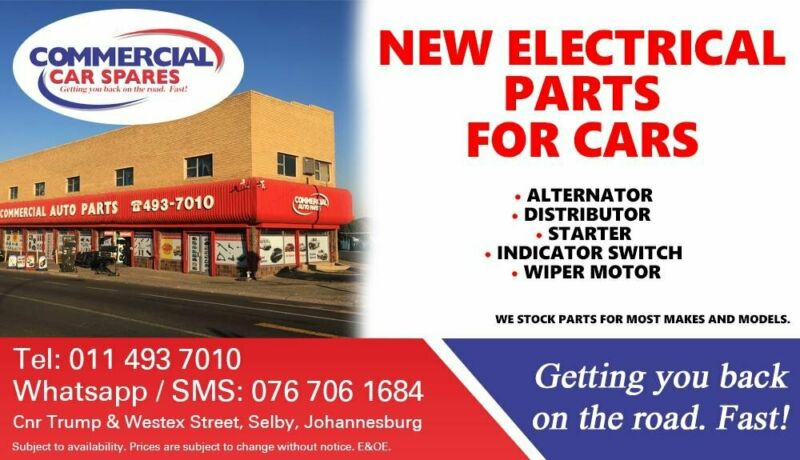 Electrical Parts For Most Car Makes and Models For Sale