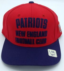 NFL New England Patriots Reebok Adult Vintage Flex Fit Structured ... 12fa59e49