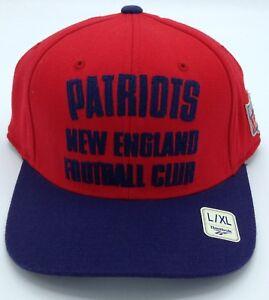35eec98af21 NFL New England Patriots Reebok Adult Vintage Flex Fit Structured ...