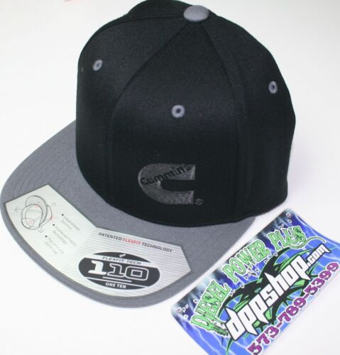 Dodge Cummins trucker hat ball cap flat bill snap back base cummings flexfit new