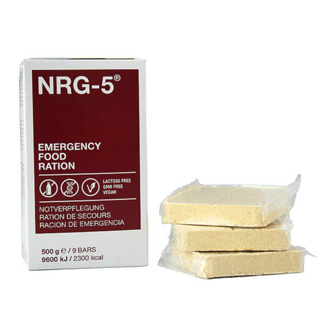 Rations d'urgence MSI - Paquet de 9 Barres