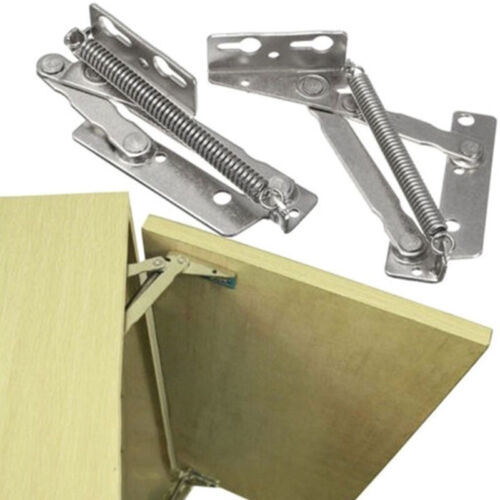 Lift Up Top Table Furniture DIY Hinges With Spring Hydraulic Mechanism Stay Flap
