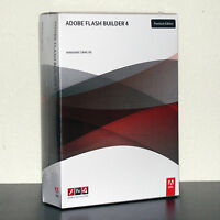 Adobe Flash Builder 4 For Windows Or Mac Brand Sealed Retail Box 65069682