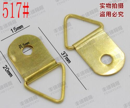 Photo frame accessories Golden triangle frame Metal hook Cross-stitch hook