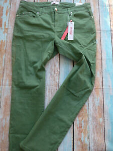 Sheego-Jeans-Trousers-Green-Ladies-Size-48-plus-Size-758