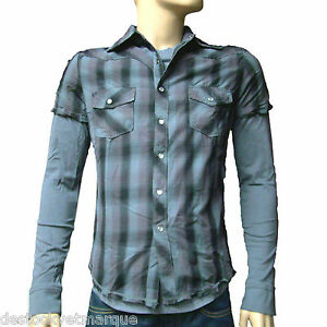 Shirt Taille En Ddp 1 Tee Grise Chemise 2 M Ebay Homme FxqwRZO