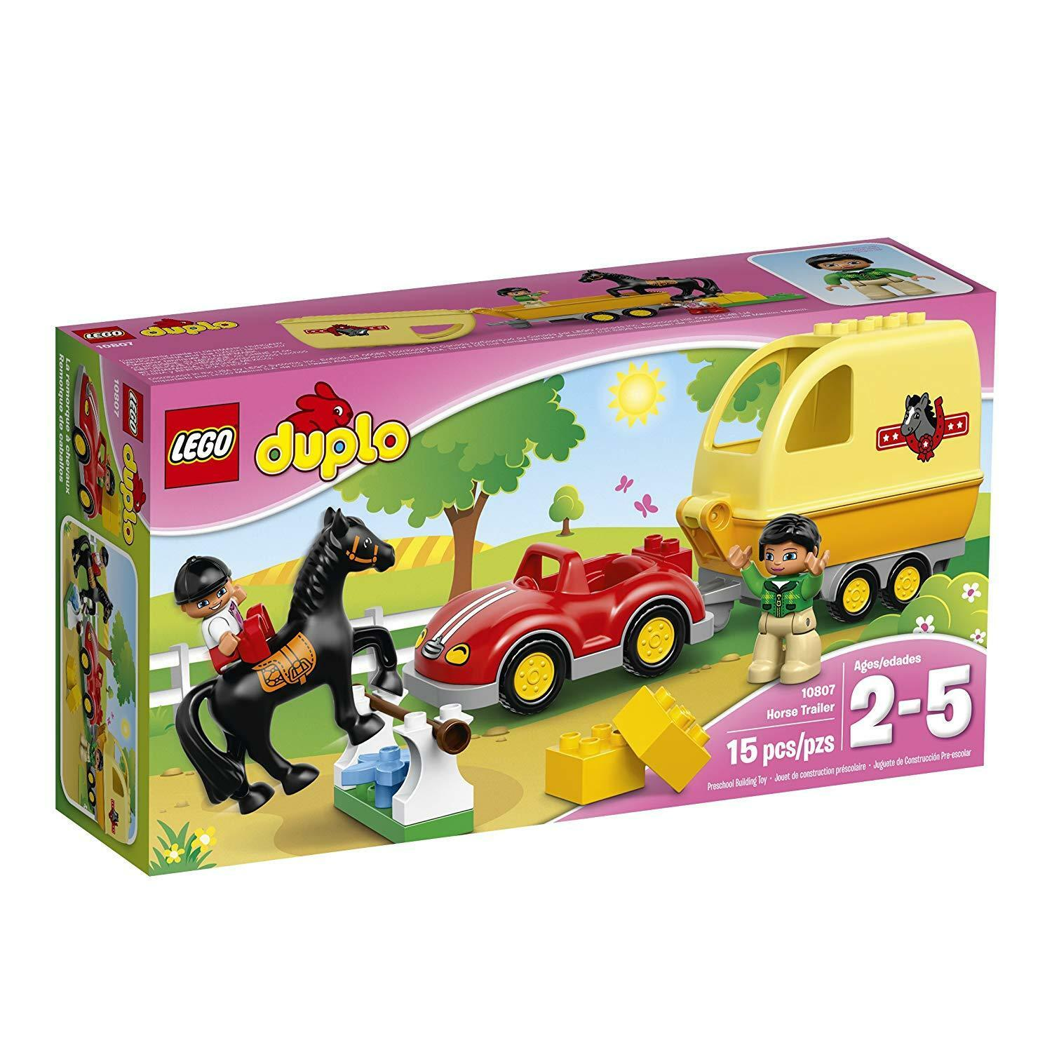 LEGO 10807 - Duplo, Town  Recreation - Horse  Trailer - 2016  vendita outlet