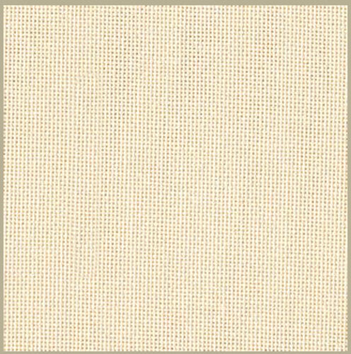 Zweigart 27 count evenweave for cross stitch 50 cms x 47 cms