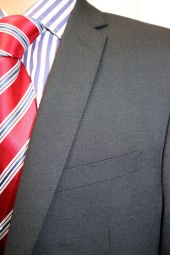RRP  £109 John Lewis Black Pinweave Extra Slim Fit Jacket Size 38S
