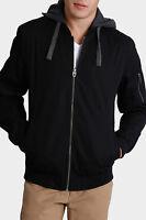 Maddox Angeles Bomber Jacket Black