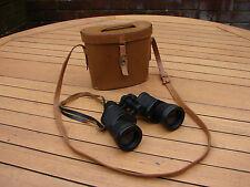 Barr & Stroud Binoculars 10x CF43 British Stunning Condition + Leather Case GSP