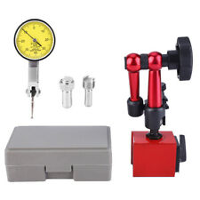 Dial Test Indicator Gauge Scale Precision Flexible Base Holder Stand