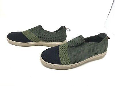 chatarra Centímetro Escepticismo  Mens Skechers (68635) RECORD CEDAR Olive/Black slip on fashion sneakers  (420C) | eBay
