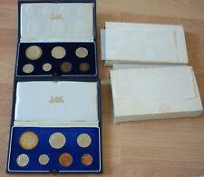 Münzsatz Süd Afrika 1966 und 1967, Proof, Silber