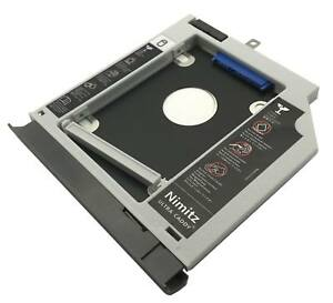 Details about 2nd HDD SSD hard drive caddy For Lenovo ideapad 320 330 520  with Gray bezel
