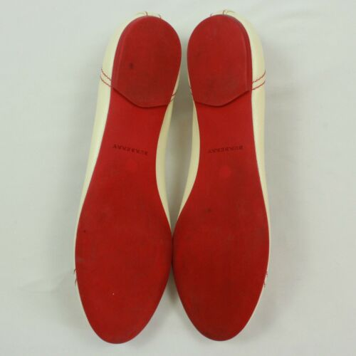 Bas Rouge Rayure À 18 Enfiler Plates Burberry Size 11 Ballerines 3ms Vintage qaUxwYgXx