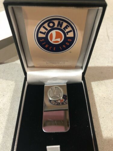 Details about  /Lionel Trains Money Clip Silver With Box New Models Hobby