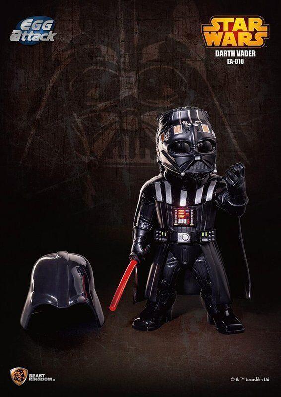 BESTIA REGNO UOVO ATTACCO Estrella Guerras EA-010 Darth Vader Vader Vader EPISODIO V azione cifra e49062