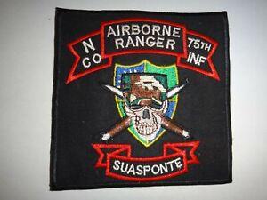 Vietnam-Guerra-Toppa-US-Army-N-Company-75th-Fanteria-Reggimento-Airborne-Ranger