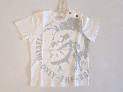 Motivata Diesel T-shirt Maglia Bambino Primavera Estate Taglia 9 12 Mesi Sconto 50% Rinvigorire Efficacemente La Salute