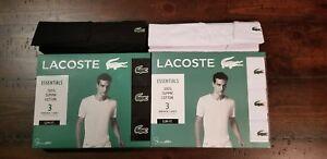 1-Lacoste-Essentials-Mens-Crew-Neck-T-Shirt-Tee-S-M-L-XL-Cotton-Slim-Classic-Fit