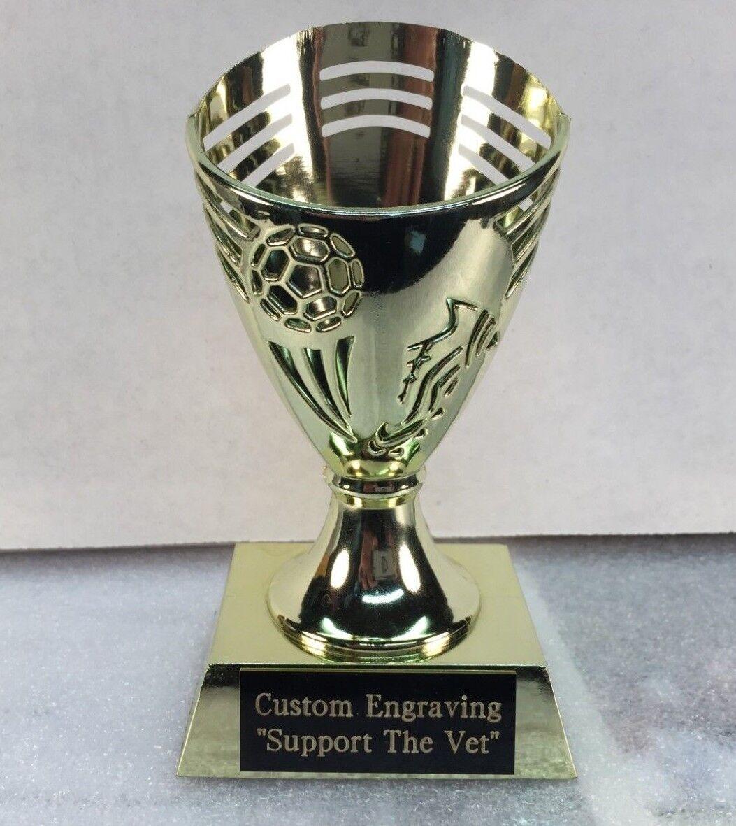 Youth Soccer Trofeo Premio Lote de 20 Gratis Grabado Gratis entrenador premio se envía 2 día