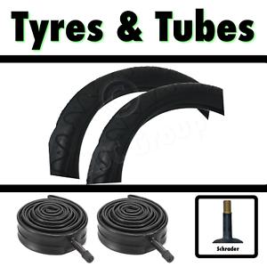2x Tyre 20 x 2.125 57-406 Kids Bike Bicycle BMX /& SCH Tubes