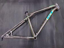 New GT Xizang Titanium Mountain Bicycle Frame, XSmall