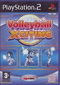 VOLLEYBALL-XCITING-2004-PS2-PAL-ITA-ORIGINALE-NUOVO-SIGILLATO-BRAND-NEW