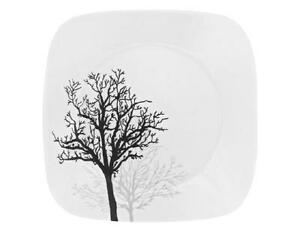 CORELLE Square TIMBER SHADOWS 6 1/2\