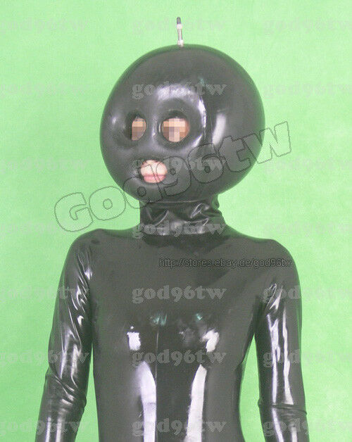 Latex maske aufblasbar