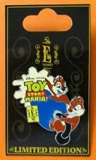 Disney Pin WDW - E-Ticket Attractions - Chip & Dale Toy Story Midway Mania 3D LE
