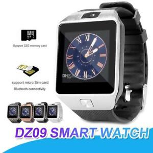 SMARTWATCH-DZ09-OROLOGIO-TELEFONO-CELLULARE-BLUETOOTH-SIM-CARD-MICRO-SD-PHONE-DS