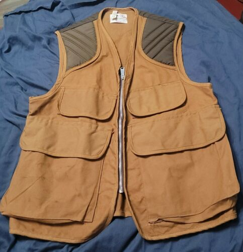 Vintage Hunting Vest Mens L/XL Pennys Foremost Pad