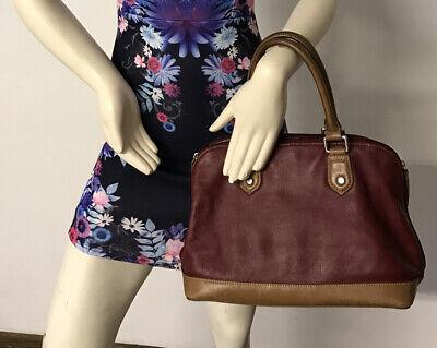 Colorado Leather Brown Handbag For