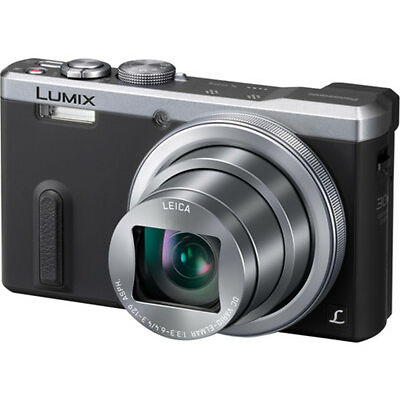 Panasonic DMC-TZ60EB-S Superzoom 18.1MP Compact Digital Camera Silver New