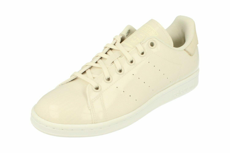 damen Adidas Originals Stan Smith Trainers Cream Weiß BA7497 UK 7 EU 40 2 3