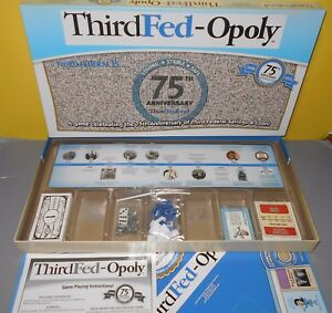 New-ThirdFed-Opoly-Game-Third-Federal-Savings-amp-Loan-Monopoly-Late-for-Sky