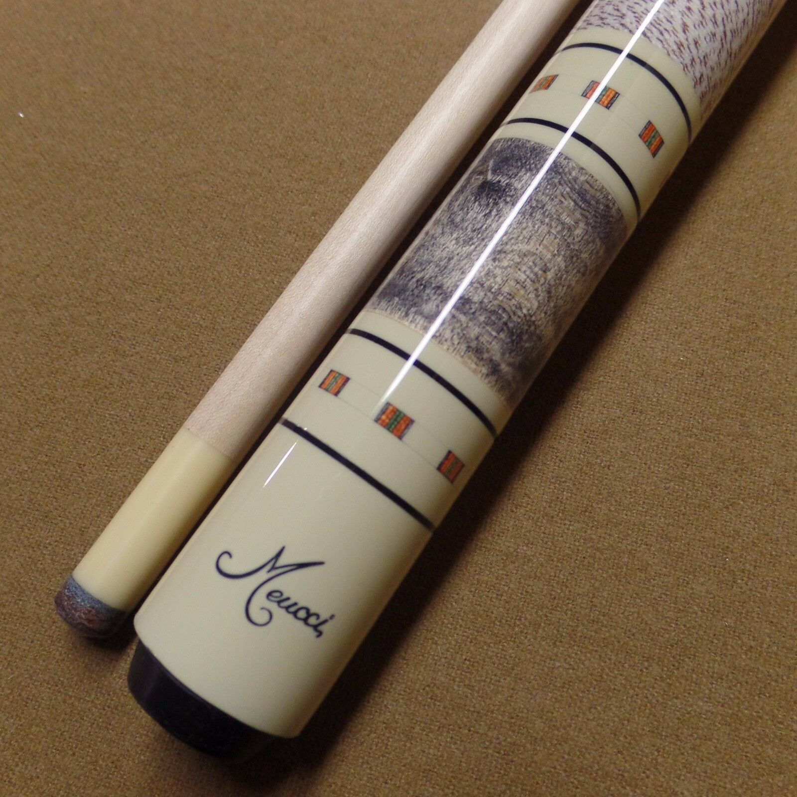 Meucci 97-12 Pool Cue 9712 w/ Red Dot Shaft and Free Shipping