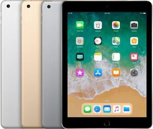 Apple-iPad-5TH-GEN-or-32-Go-Wifi-SEULEMENT-ecran-Retina-9-7-in-environ-24-64-cm-Grade-B-iOS-13-UK