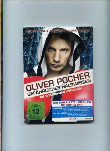 1 von 1 - 2 DVD Oliver Pocher  Gefährliches Halbwissen  2009   NEU
