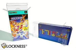 Super-Famicom-box-protectors-japanese-snes-SFC-box-protector-0-3-mm-perfect-fit