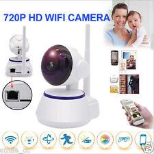 Inalámbrico Pan Inclinación 720p Seguridad Red CCTV Cámara IP Visión Nocturna