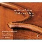 Aldebrando Subissati: Violin sonatas (1675, 2013)