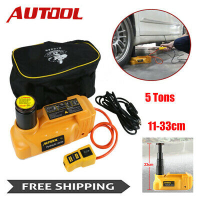 12V 5T Car Portable Electric Hydraulic Floor Jacks ...