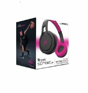 STREET-50-Cent-Wired-Pink-Over-Ear-Headphones-SMS-Audio-Brand-New-in-Box