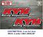 Sticker-Vinilo-Decal-Vinyl-Aufkleber-Adesivi-Autocollant-KYB-Racing-Suspensions miniatura 2