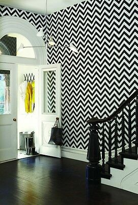Self adhesive Chevron wallpaper vinyl removable mural, nursery wallpaper 010
