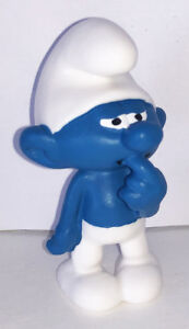 NEW-Clumsy-Smurf-Figurine-20810-Plastic-Figure-Miniature-2019-SMURFS-SET