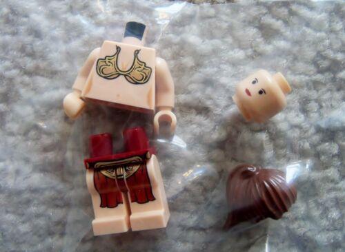 LEGO Star Wars Rare Original Slave Princess Leia Minifig New From 6210
